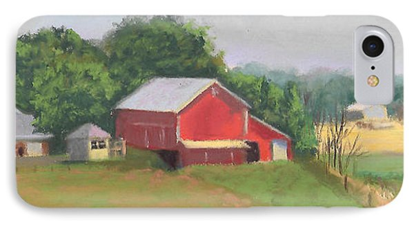 South View Of Meyer Farm Phone Case by Terri  Meyer
