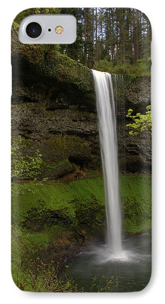 South Waterfalls IPhone Case by Jerry Cahill