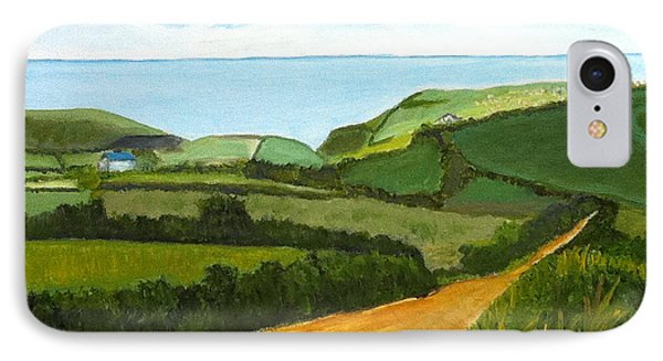 South West England Countryside Cotswold Area IPhone Case