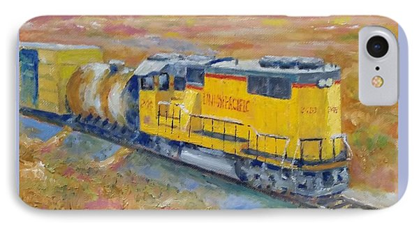 South West Union Pacific IPhone Case by William Reed