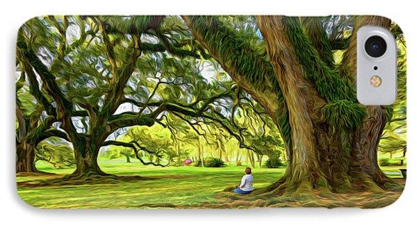 Southern Dreamer - Paint IPhone Case by Steve Harrington