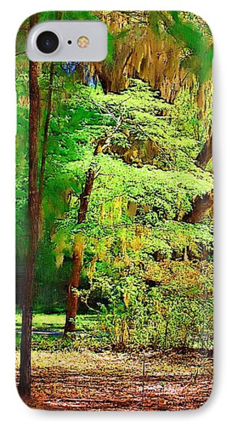 IPhone Case featuring the photograph Southern Forest by Donna Bentley
