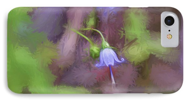 IPhone Case featuring the photograph Southern Harebell Wildflower by Kerri Farley