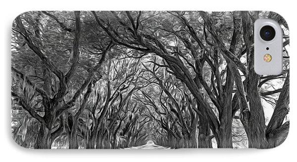 Southern Journey 2 - Vignette IPhone Case by Steve Harrington