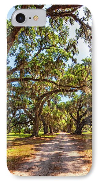 Southern Lane - Evergreen Plantation IPhone Case