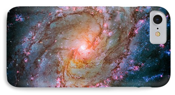 Southern Pinwheel Galaxy - Messier 83 -  IPhone Case by Jennifer Rondinelli Reilly - Fine Art Photography