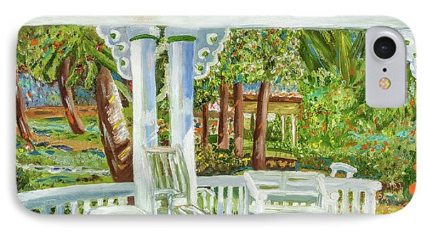 Southern Porches IPhone Case by Margaret Harmon