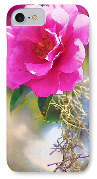 IPhone Case featuring the digital art Southern Rose by Donna Bentley