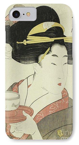 Southern Teahouse IPhone Case by Kitagawa Utamaro