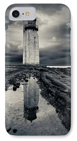 Southerness Lighthouse IPhone Case by Dave Bowman