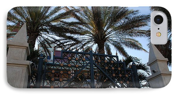 Southernmost Hotel Entrance In Key West Phone Case by Susanne Van Hulst