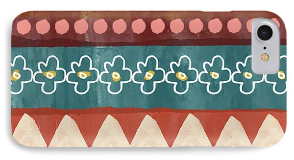 Southwest 3- Art By Linda Woods IPhone Case