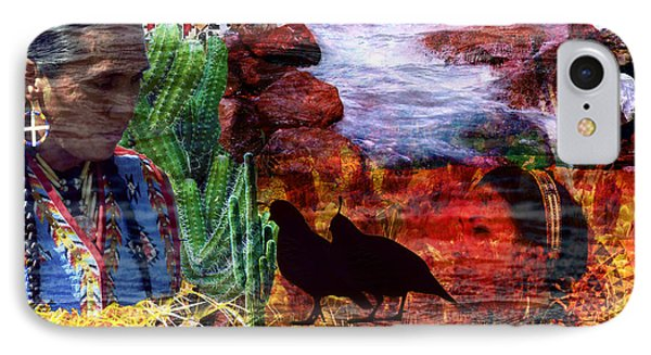 Southwest IPhone Case by Judi Saunders
