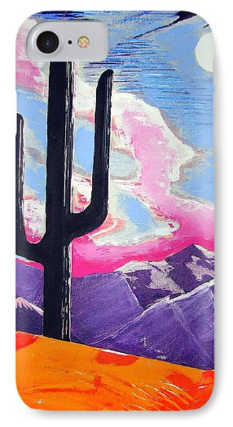 IPhone Case featuring the painting Southwest Skies 2 by J R Seymour
