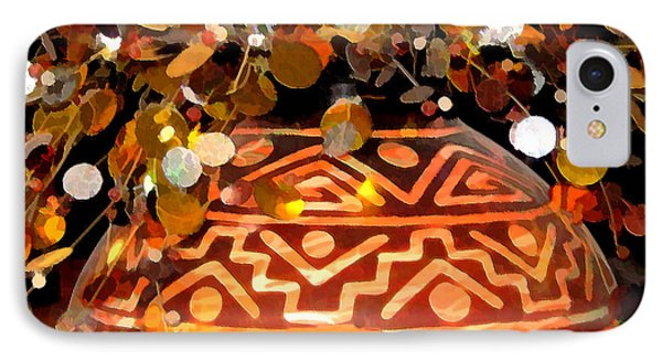 Southwest Vase Art IPhone Case by Gary Baird
