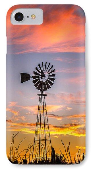 Southwest Windmill IPhone Case