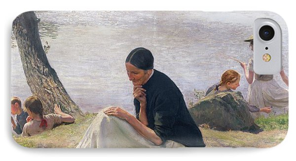 Souvenir IPhone Case by Emile Friant