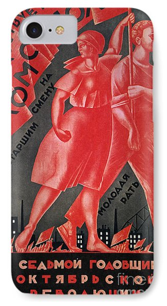 Soviet Poster, 1924 Phone Case by Granger