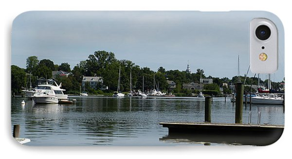 IPhone Case featuring the photograph Spa Creek From The Park  by Donald C Morgan