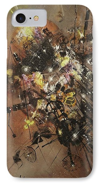 Space Debris IPhone Case by Tom Shropshire