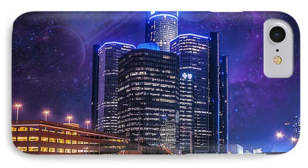 IPhone Case featuring the photograph Space Detroit by Nicholas  Grunas