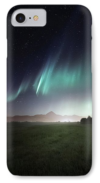 Space Farm IPhone Case by Tor-Ivar Naess