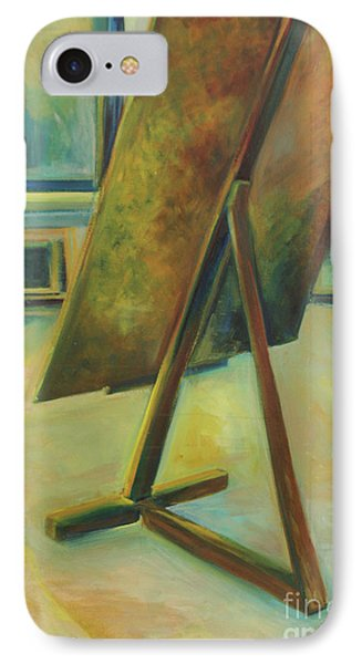 IPhone Case featuring the painting Space Filled And Empty by Daun Soden-Greene