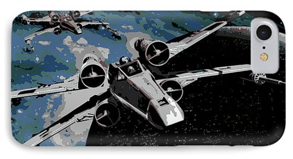 Space IPhone Case by George Pedro