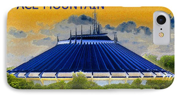 Space Mountain IPhone Case by David Lee Thompson