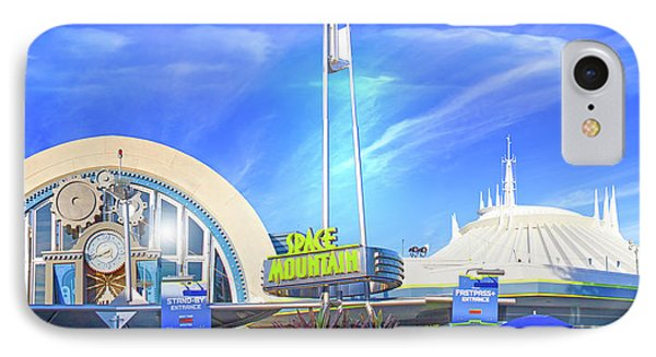 Space Mountain Entrance Panorama IPhone Case
