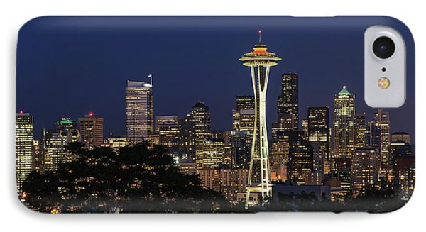 Space Needle IPhone 7 Case by David Chandler
