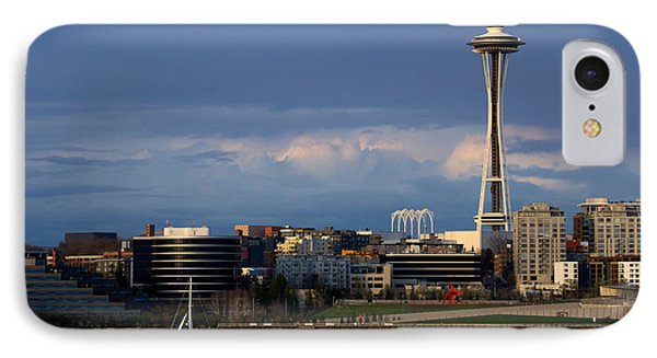 IPhone Case featuring the photograph Space Needle by Evgeny Vasenev