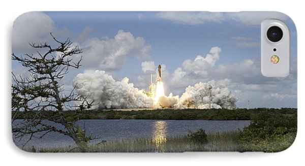 Space Shuttle Discovery Liftoff Phone Case by Stocktrek Images