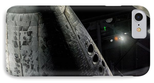 Space Shuttle Nose  IPhone Case by David Collins