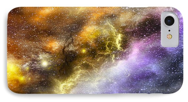 Space005 IPhone Case by Svetlana Sewell