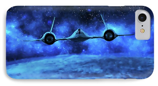 Spaceward IPhone Case by Dave Luebbert