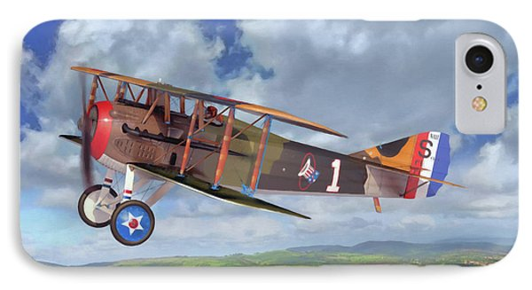 Spad Xiii IPhone Case by Dale Jackson