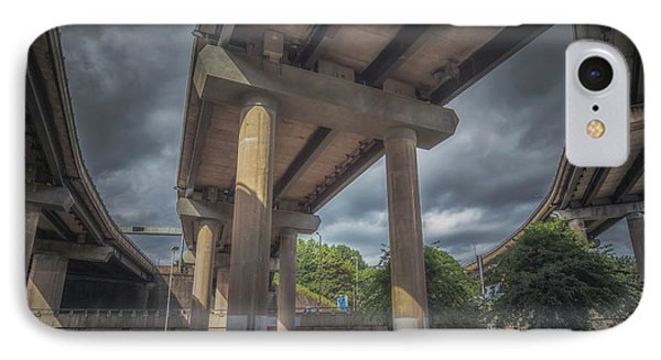 Spaghetti Junction IPhone Case by Chris Fletcher
