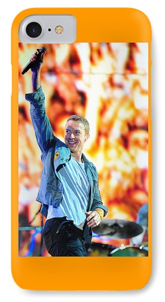 Coldplay4 IPhone 7 Case by Rafa Rivas