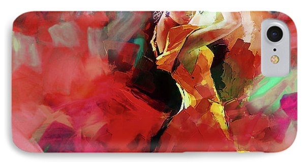 IPhone Case featuring the painting Spanish Dance by Gull G
