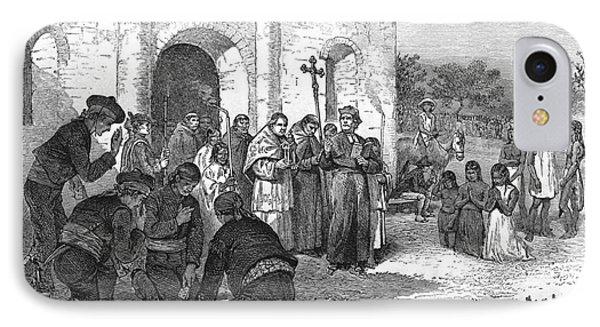 Spanish Mission Of The Alamo IPhone Case