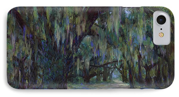 Spanish Moss Phone Case by Billie Colson