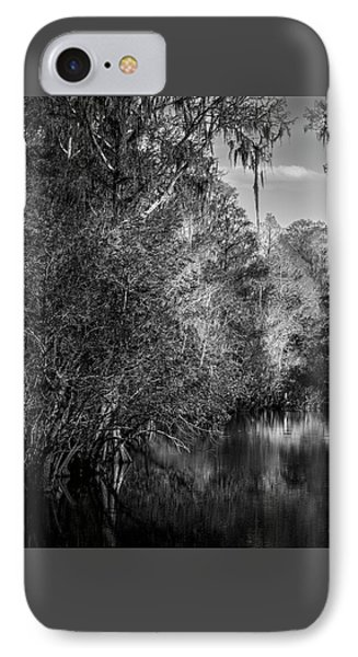 Spanish Moss IPhone Case by Marvin Spates
