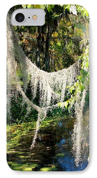 Spanish Moss Over The Swamp Phone Case by Carol Groenen