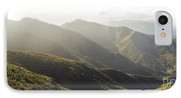 spanish mountain range, Malaga, Andalusia, IPhone Case by Perry Van Munster