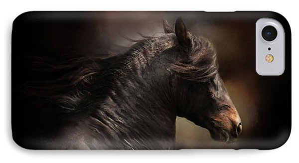 Spanish Stallion IPhone Case by Kathy Russell