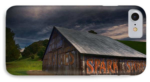 Spark Stoves Barn IPhone Case