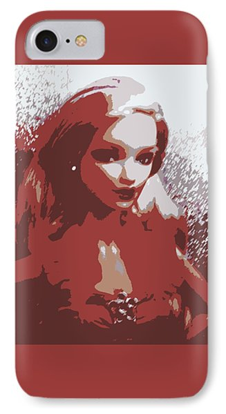 Sparkle Barbie IPhone Case by Karen J Shine