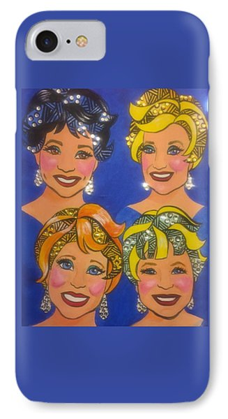 Sparkle IPhone Case by Marilyn Jacobson