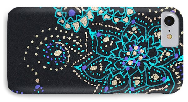 Midnite Sparkle IPhone Case by Carole Brecht